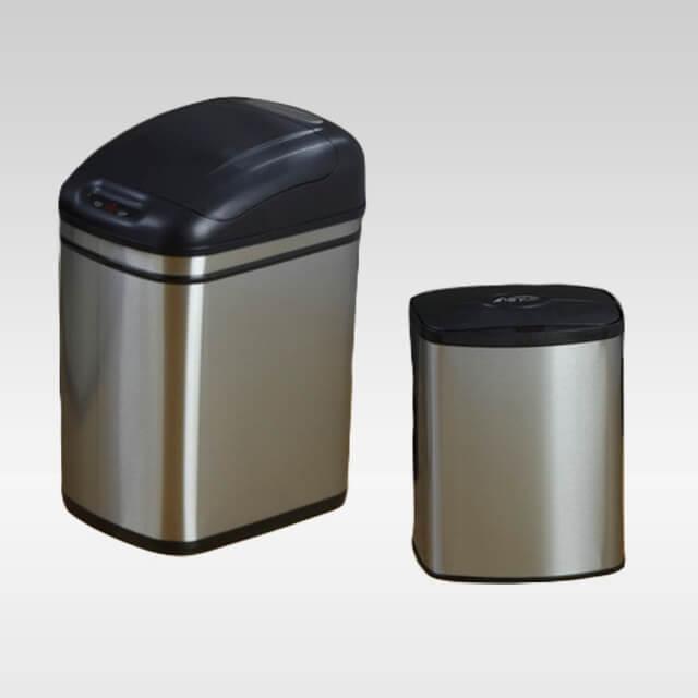 Zestaw koszy COMBO DZT-24-1 & DZT-8-1 bezdotykowe automatyczne