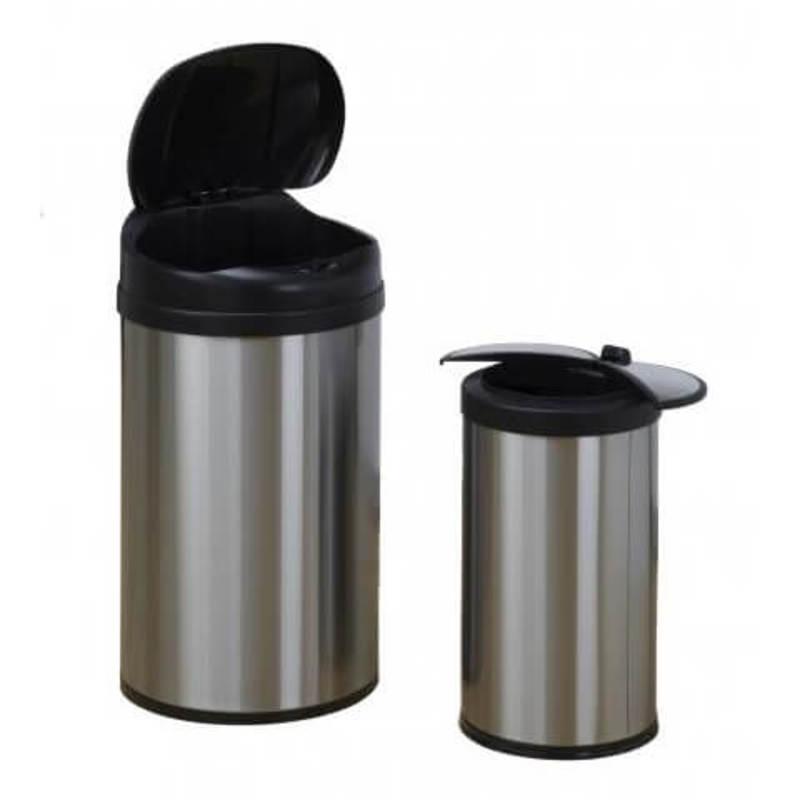 Zestaw koszy COMBO DZT-40-8 & DZT-12-18  bezdotykowe automatyczne