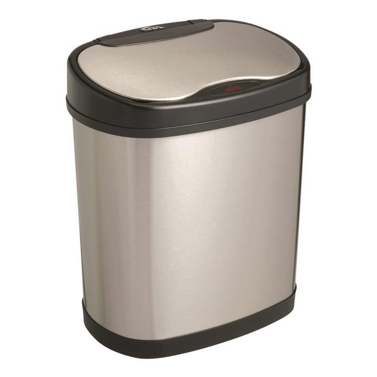 Kosz na śmieci DZT-12-13 12l bezdotykowy automatyczny owal