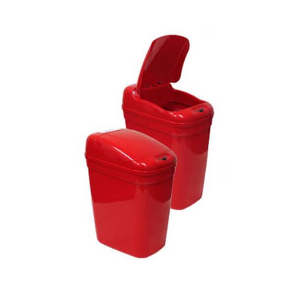 Kosz na śmieci DZT-20-1RD 20l bezdotykowy automatyczny prostokąt