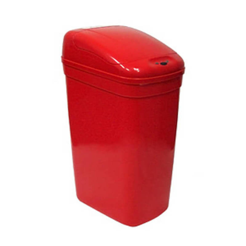 Kosz na śmieci DZT-27-1RD 27l bezdotykowy automatyczny prostokąt