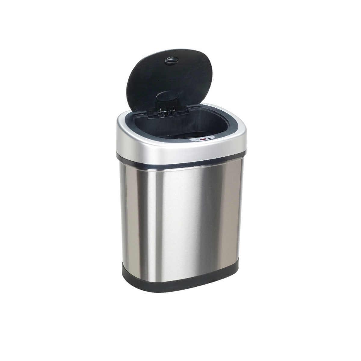 Kosz na śmieci DZT-42-9 42l bezdotykowy automatyczny owal