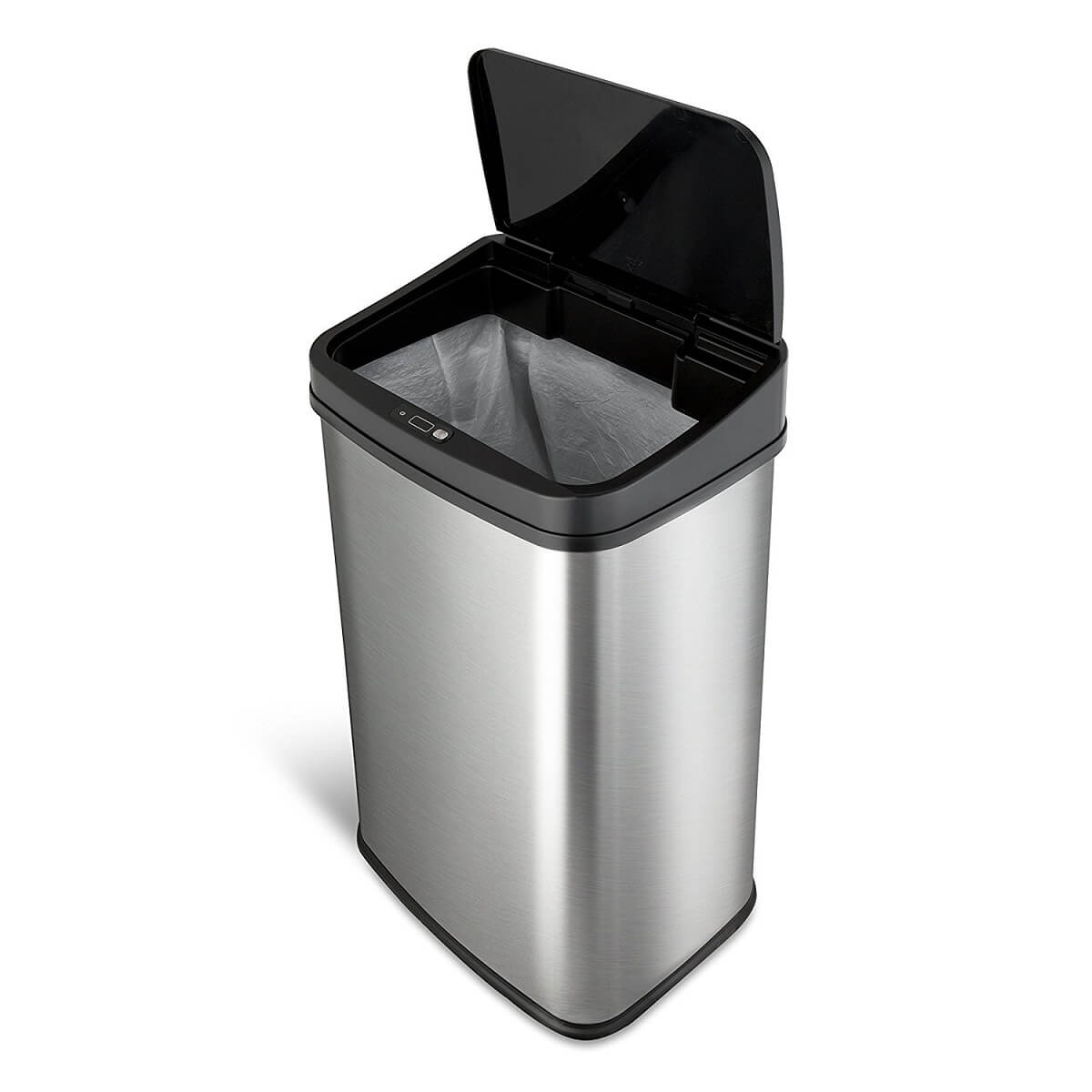 Kosz na śmieci DZT-50-28 50l bezdotykowy automatyczny prostokat
